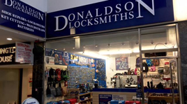 locksmith shop front image